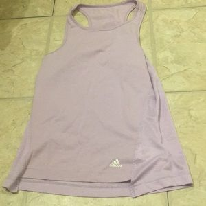 Adidas Lilac Athletic Tank Top